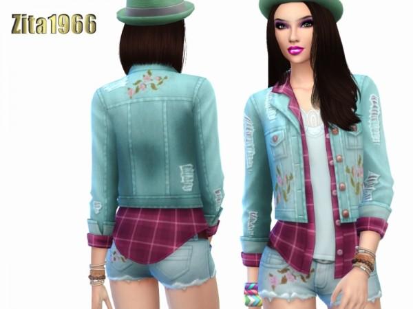 The Sims Resource: Pastel Denim by ZitaRossouw