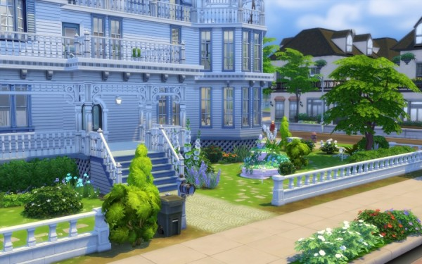 Sims Artists: Victorienne house