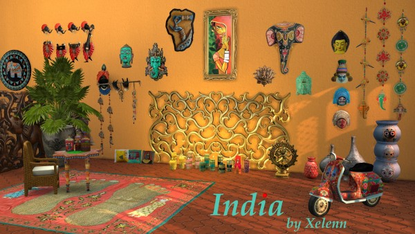 The Sims 4 Xelenn: India