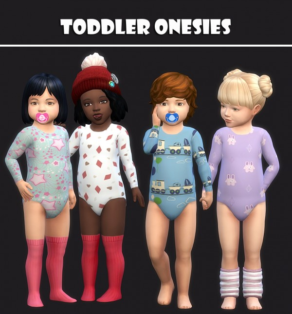 Simsworkshop: Toddlers Onesies 25 Swatches by maimouth