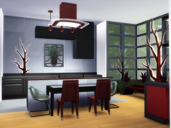 The Sims Resource: Onyx house by Danuta720