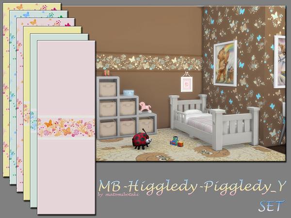 The Sims Resource: Higgledy Piggledy Y walls by matomibotaki
