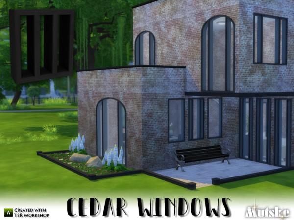 The Sims Resource: Cedar Windows Construction by mutske