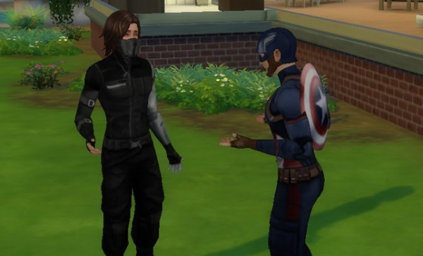 Simsworkshop: Bucky Barnes Winter Soldier sims model by DragonsDawn