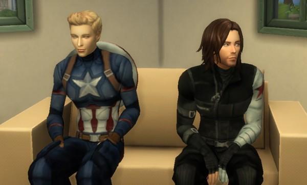 Simsworkshop: Bucky Barnes Winter Soldier sims model by ...