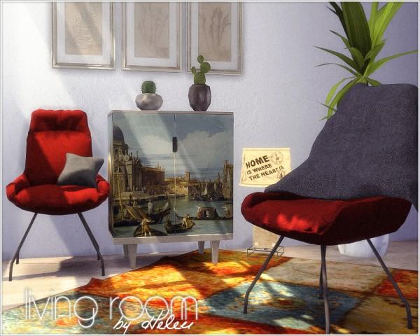 Helen Sims: Livingroom