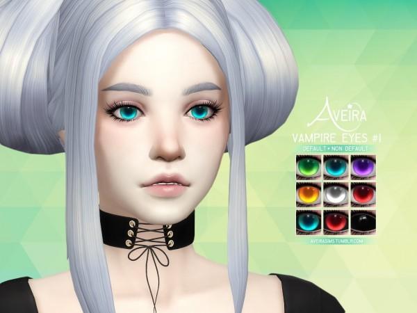Aveira Sims 4: Vampire Eyes 1