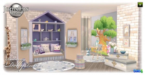 Jom Sims Creations: Dolly kidsroom