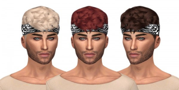 Kenzar Sims: Ade Caleb hairstyle retextured
