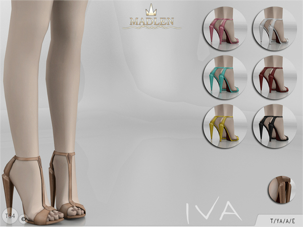 The Sims Resource: Madlen Iva Shoes by MJ95