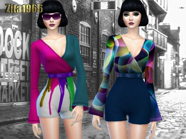 The Sims Resource: City Girls outfit by ZitaRossouw