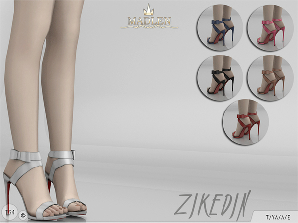 The Sims Resource: Madlen Zikedin Shoes by MJ95