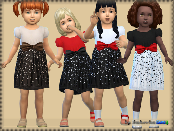 The Sims Resource: Specks Dress by bukovka