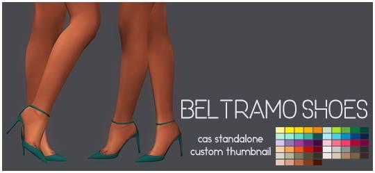 Simsworkshop: Beltramo Shoes by Sympxls