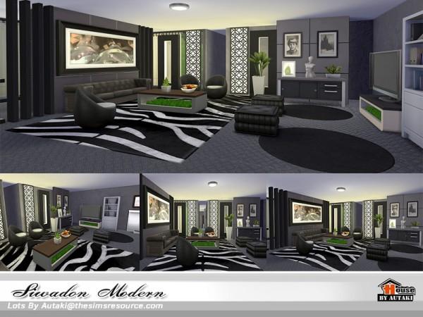 The Sims Resource: Siwadon Modern house by Autaki