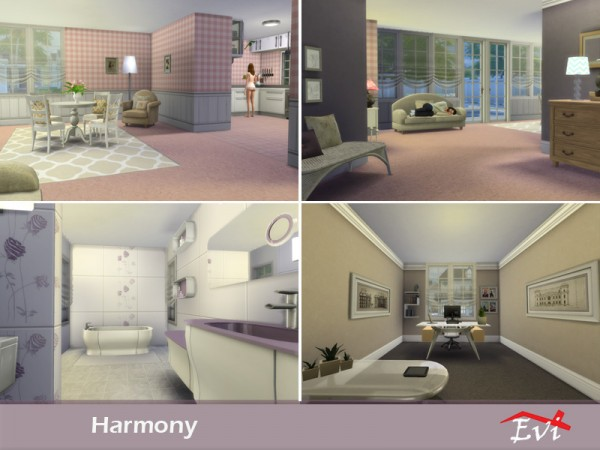 The Sims Resource: Harmony house by evi