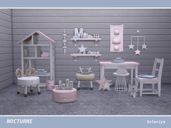The Sims Resource: Nocturne kidsroom by soloriya