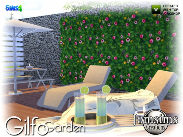 The Sims Resource: Gilfo Garden by jomsims