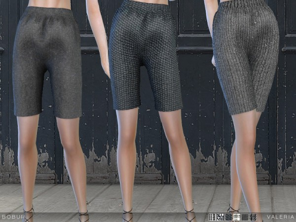 The Sims Resource: Valeria shorts by Bobur
