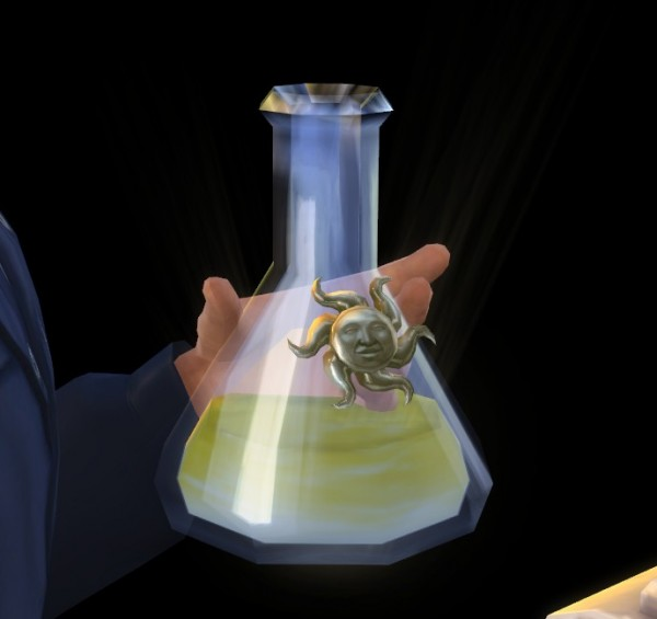 Mod The Sims: Vampire Sun Potion by Seri