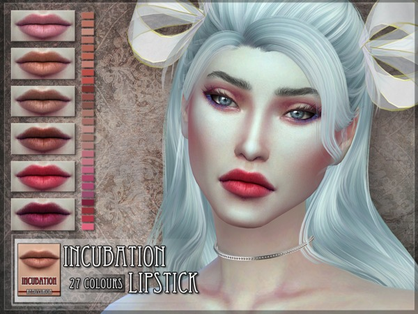 The Sims Resource: Incubation Lipstick by RemusSirion