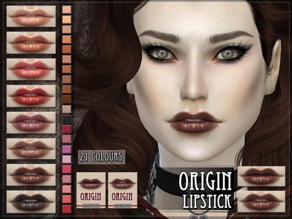 The Sims Resource: Origin Lipstick by Remus Sirion