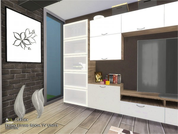 The Sims Resource Primo Living Room Tv Units By