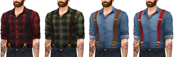 Marvin Sims: Suspender Shirts