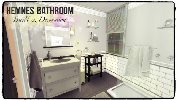 Dinha Gamer: Hemnes Bathroom