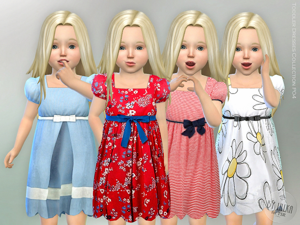 The Sims Resource: Toddler Dresses Collection P04 by lillka