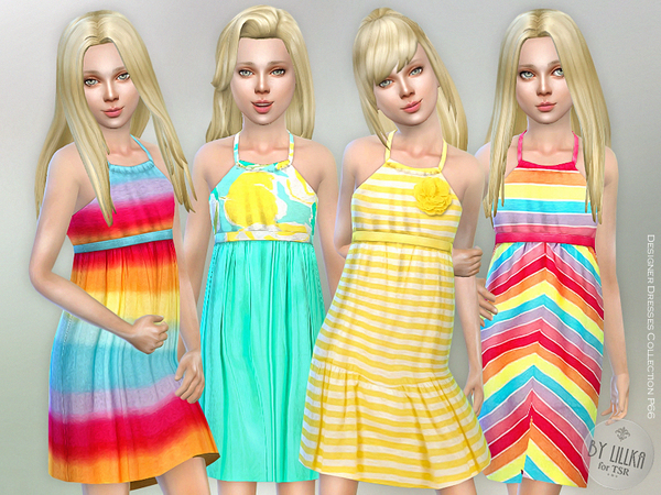 The Sims Resource: Designer Dresses Collection P66 by lillka