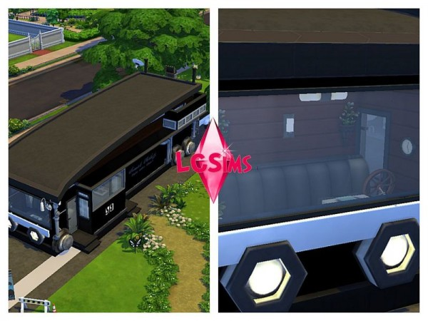 The Sims Resource: Luxury Modern RV by LCSims