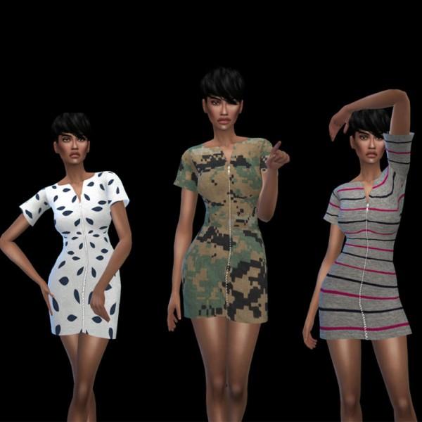 Leo 4 Sims: Athena Dress