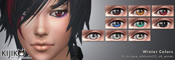 Kijiko Eye Colors For Vampires Sims 4 Downloads