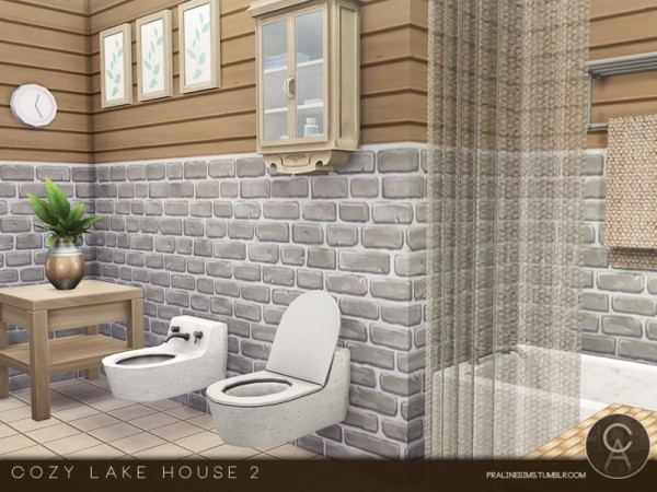 The Sims Resource: Cozy Lake House 2 by Pralinesims