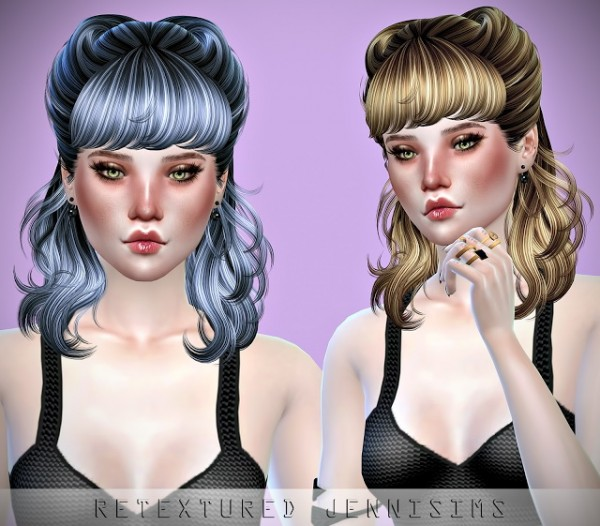 Jenni Sims: Newsea Hedonism and Newsea Roll Cake Hairs retextures