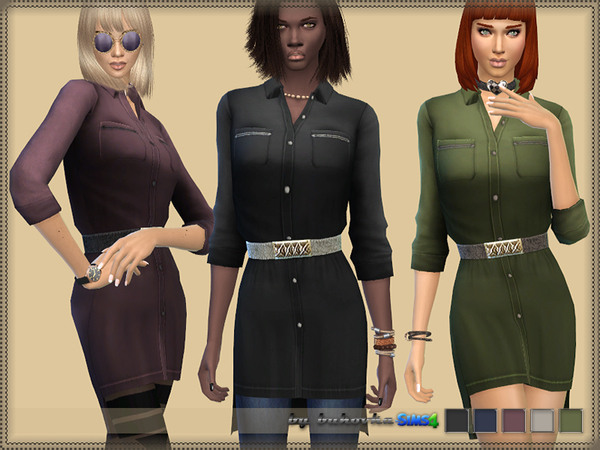 The Sims Resource: Dress Shirt by bukovka