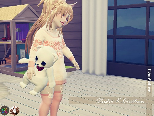 Studio K Creation: Teddy bear toy for toddler