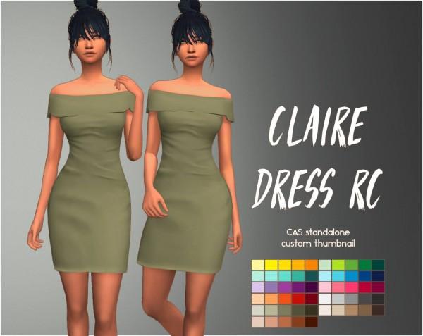 Simsworkshop: Claire Dress by Sympxls