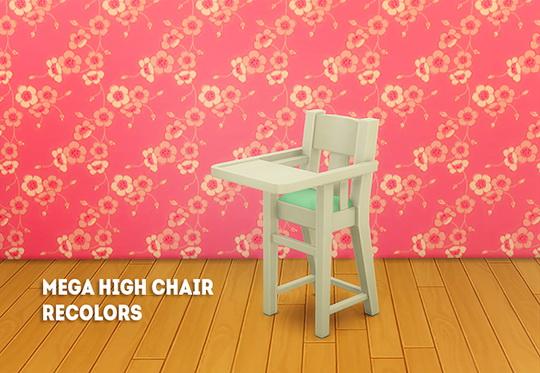 LinaCherie: Mega high chair recolors