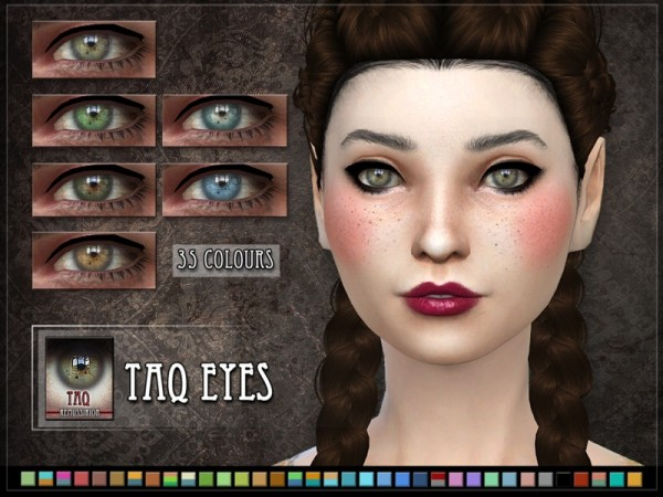 The Sims Resource: Taq Eyes by RemusSirion