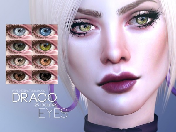 The Sims Resource: Draco Eyes N122 by Pralinesims