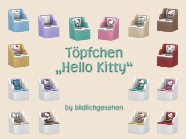 "Akisima Sims Blog: ""Hello Kitty"" potty"