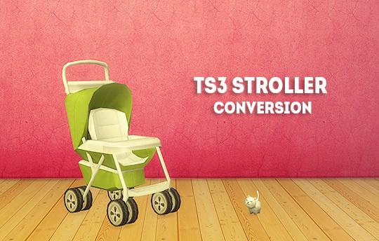 LinaCherie: Stroller decor conversion