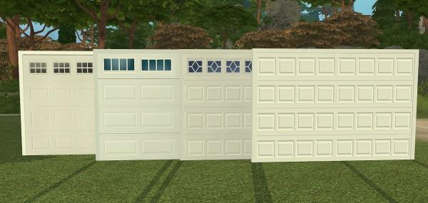 Sims 4 Designs: NS Modern Garage Doors