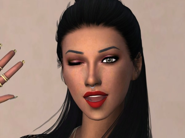 The Sims Resource: Kehlani Lipstick REDS by Christopher067