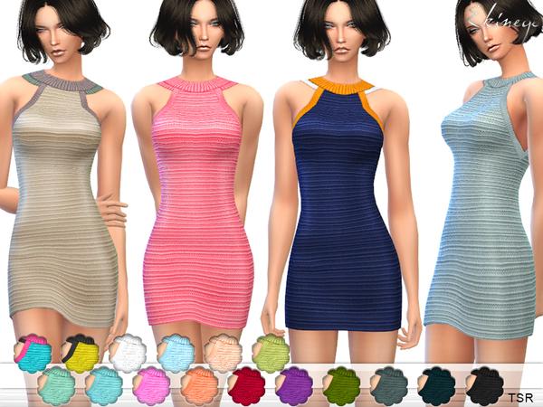 The Sims Resource: Knit Tank Dress by ekinege