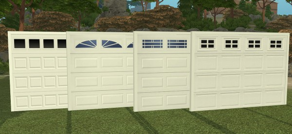 Sims 4 Designs Ns Modern Garage Doors Sims 4 Downloads