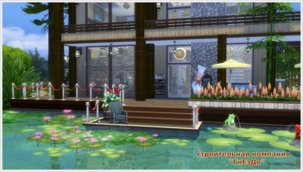 Sims 3 by Mulena: Cafe Berth