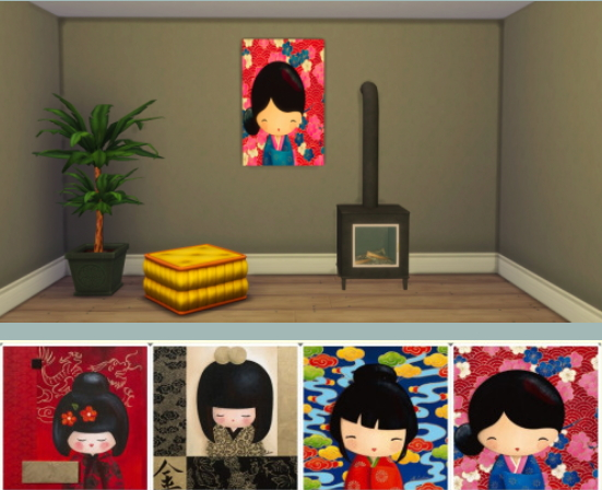 Chillis Sims: Painting Little Dolls